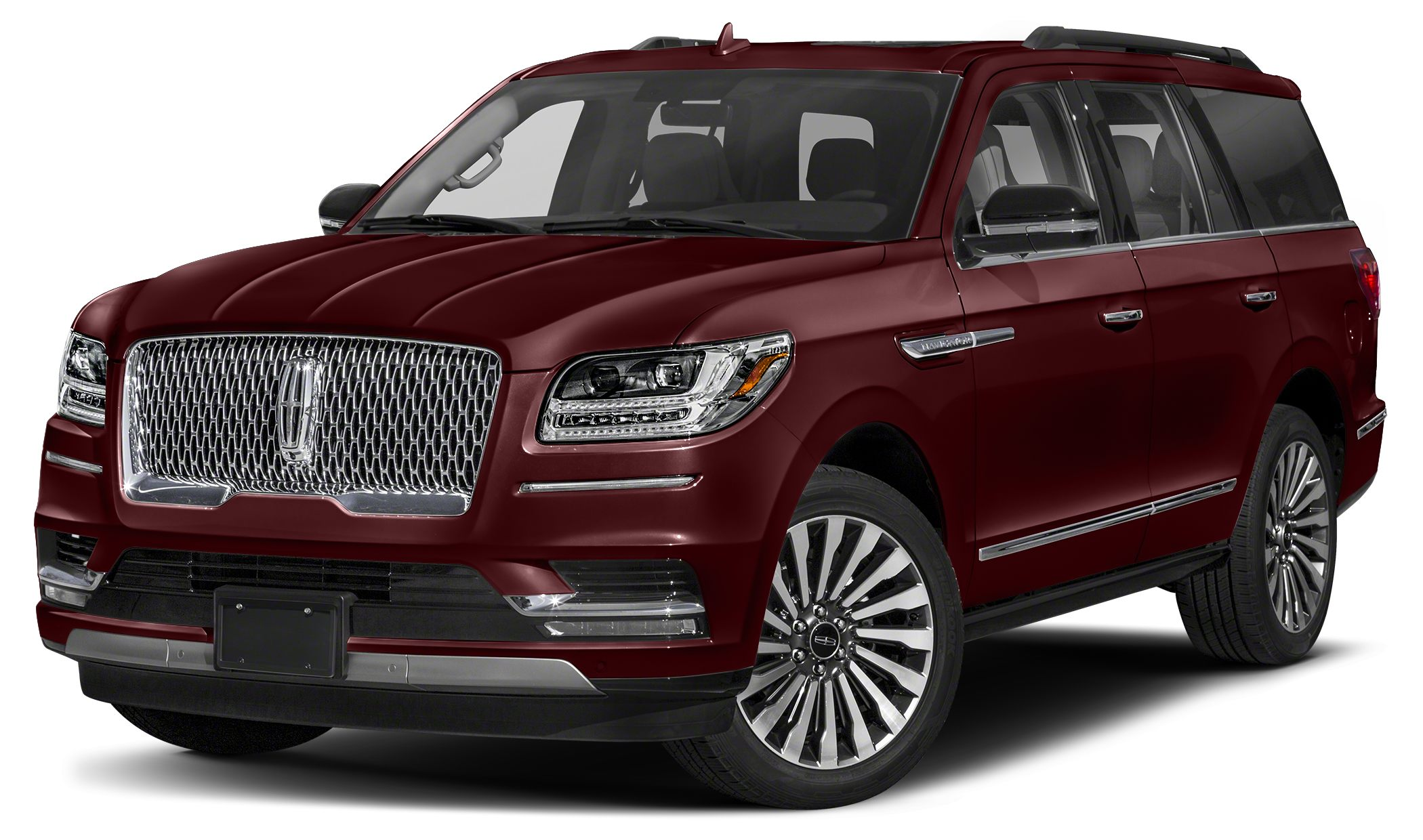 2018 Lincoln Navigator Select Miles 0Color Burgundy Velvet Metallic Tinted Clearcoat Stock LJ1
