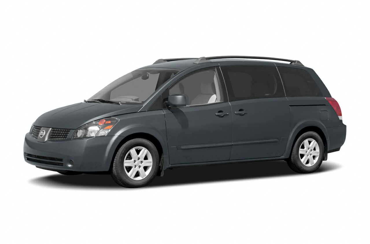2004 Nissan Quest 35 SE WE OFFER FREE LIFETIME INSPECTION Miles 228141Color Red Stock P1473T