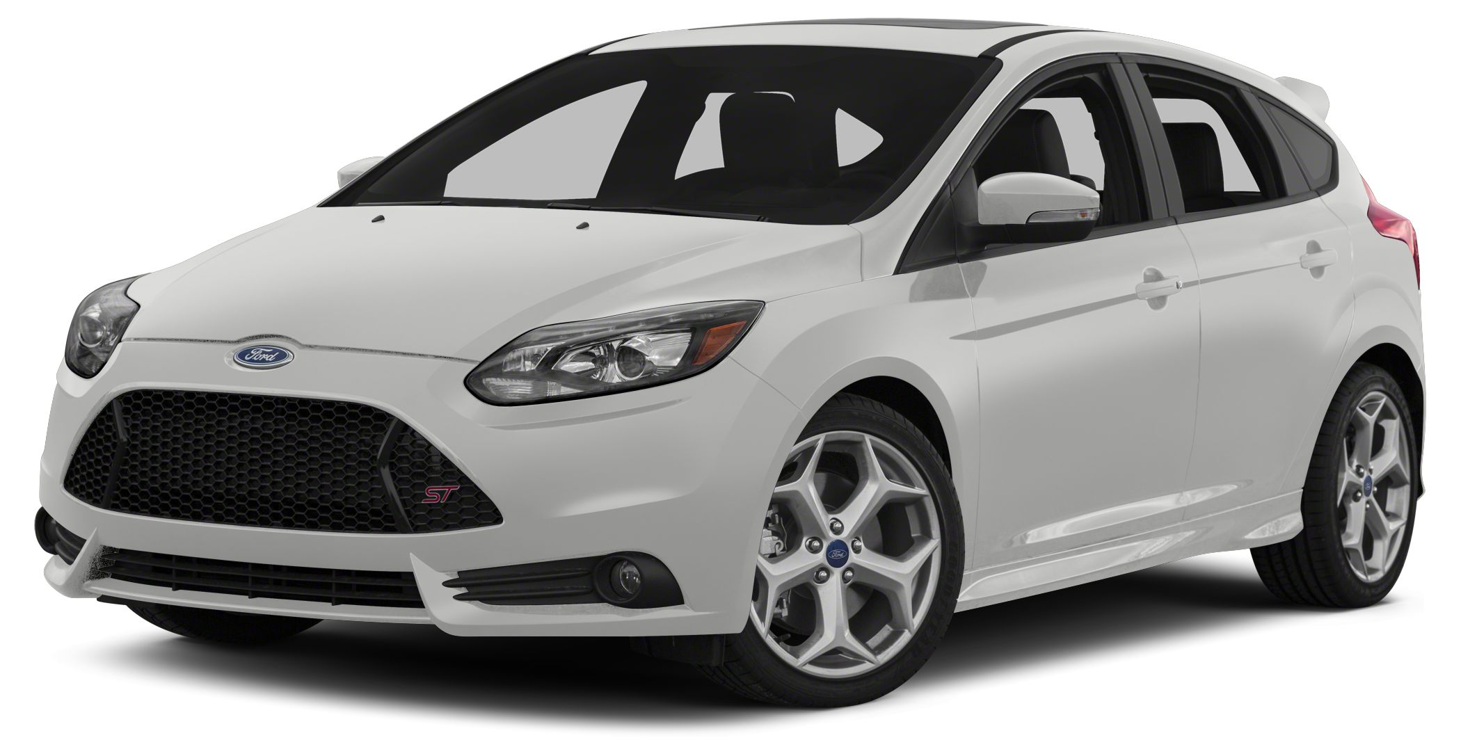 2014 Ford Focus ST Base Miles 10Color Oxford White Stock EL388490 VIN 1FADP3L91EL388490