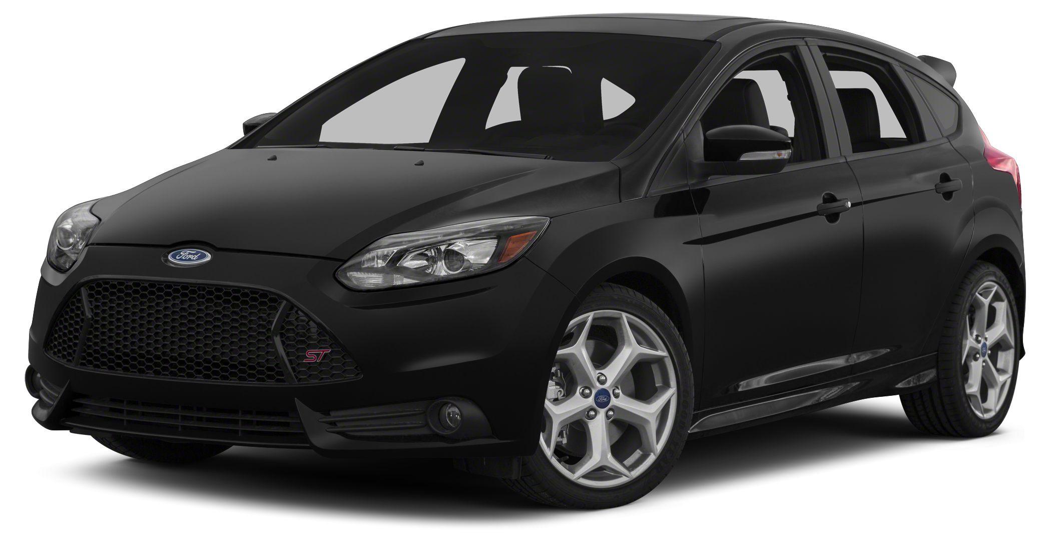 2014 Ford Focus ST Base Miles 25Color Black Stock 14015K VIN 1FADP3L93EL338223