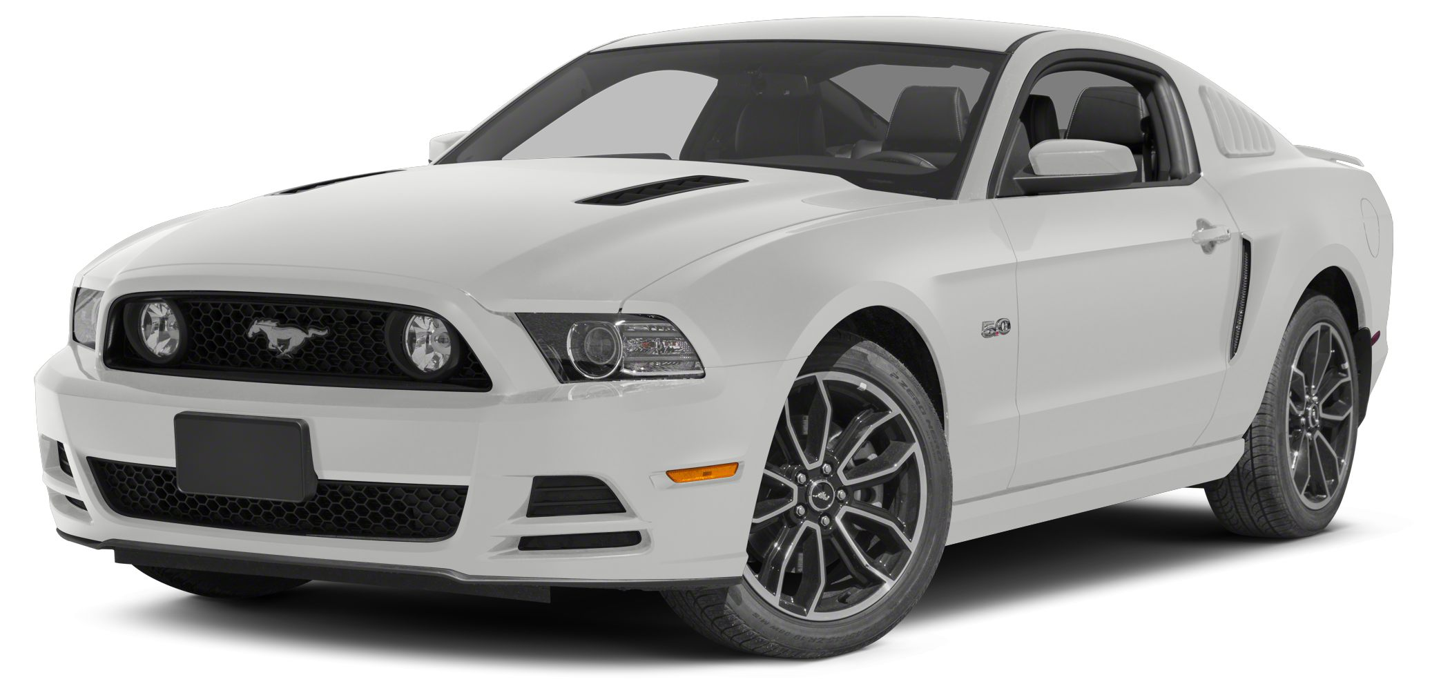 2014 Ford Mustang  Miles 30009Color White Stock 16AL679A VIN 1ZVBP8CF0E5308862