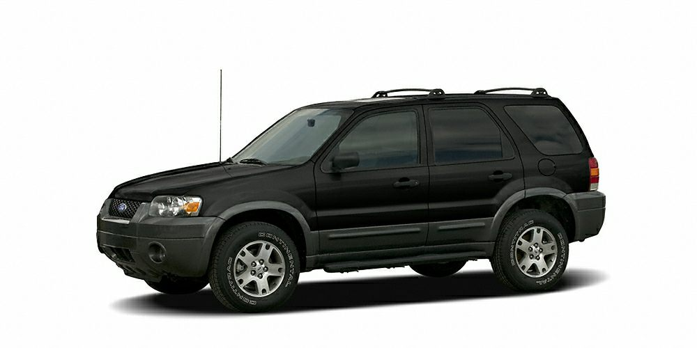2006 Ford Escape XLT Miles 123120Color Black Stock HP2541A VIN 1FMYU93186KA38066