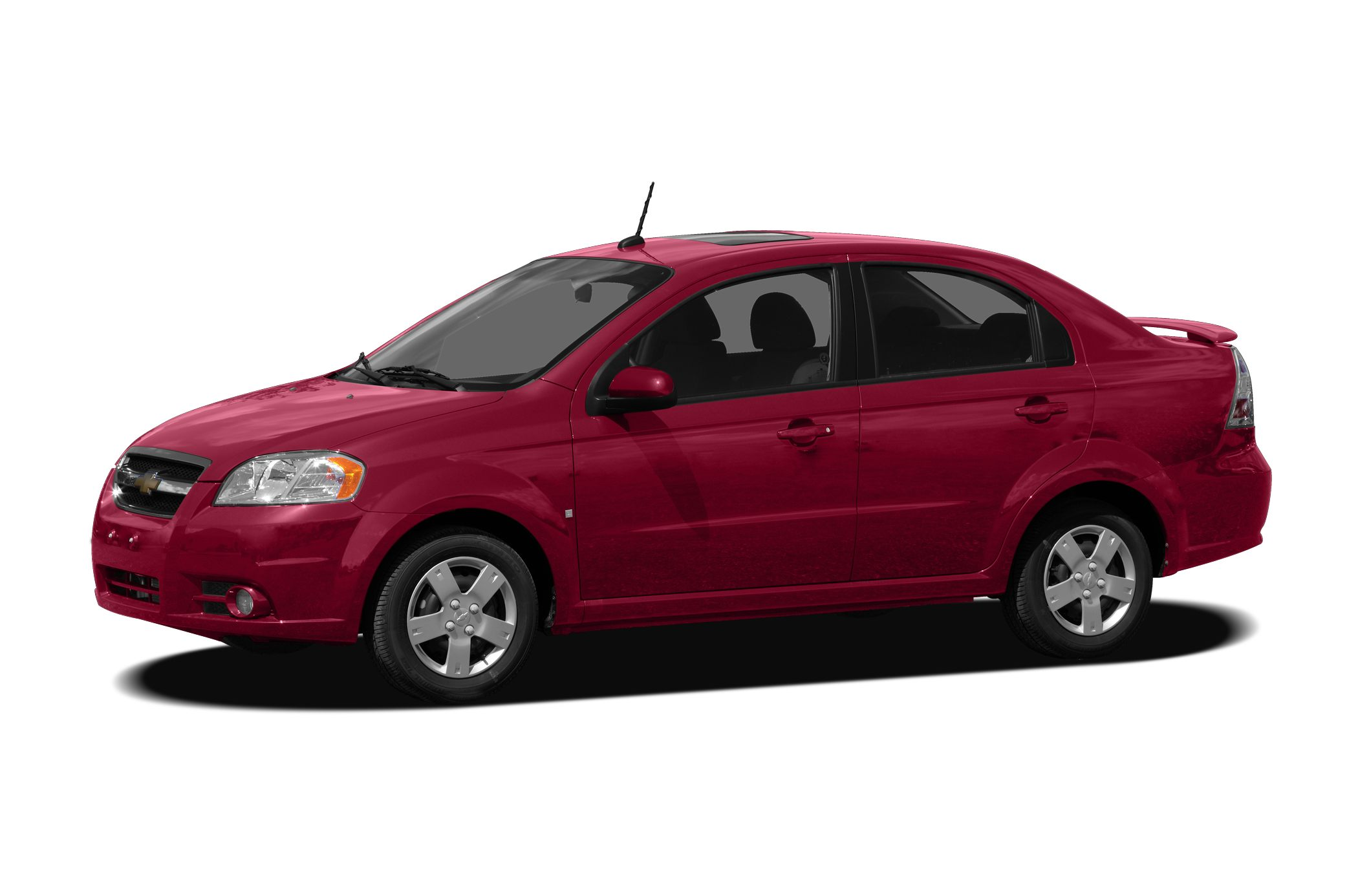 2009 Chevrolet Aveo LS Miles 89100Color Red Stock 150958A VIN KL1TD56E79B377645