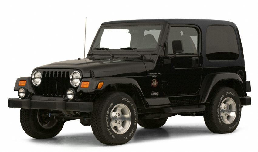 2001 Jeep Wrangler Sport Color Silver Stock M1406B VIN 1J4FA49S21P374051