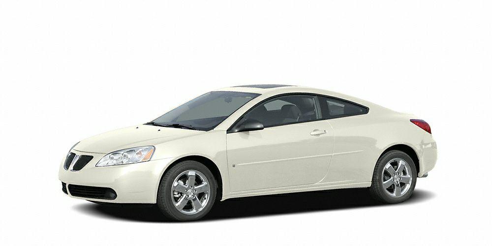 2007 Pontiac G6 GT GT trim CARFAX 1-Owner Premium Sound System Head Airbag Chrome Wheels 5 St