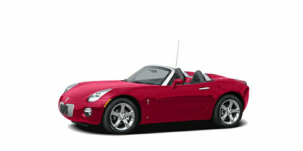 2007 Pontiac Solstice GXP Miles 107717Color Red Stock 216015A VIN 1G2MG35X97Y133859