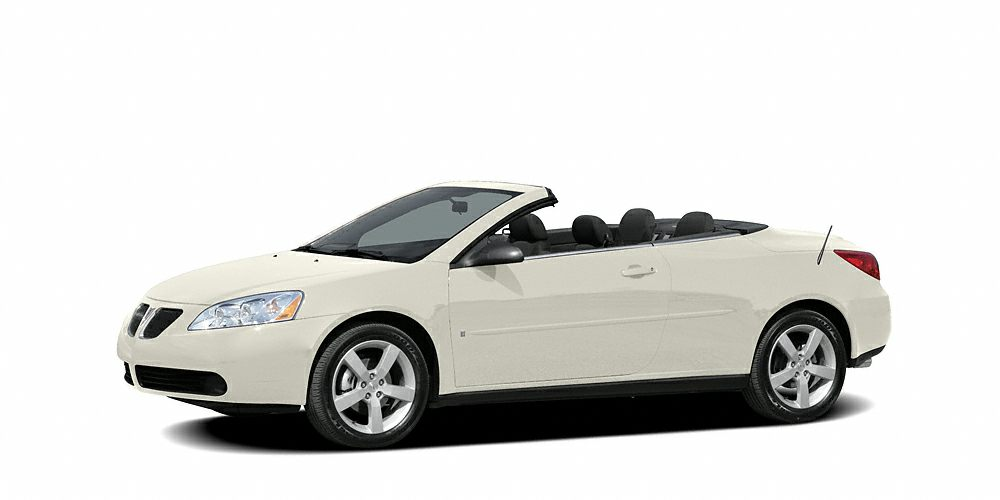 2007 Pontiac G6 GT Just Arrived This awesome Convertible Vehicle is the wonderful Vehicle youve