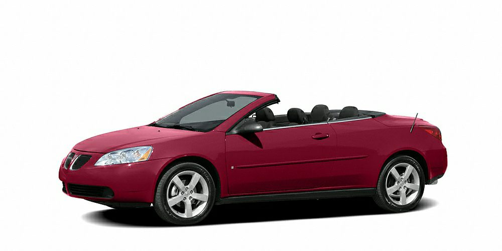 2007 Pontiac G6 GT 39L V6 SFI LOCAL TRADE and CLEAN CARFAX Red Hot Nice convertible