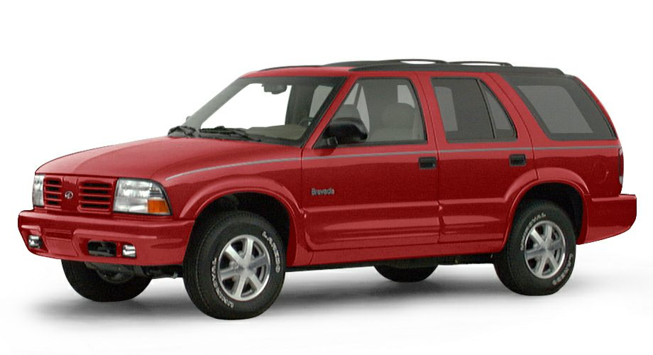 2000 Oldsmobile Bravada Base This 2000 Oldsmobile Bravada 4dr 4dr AWD features a 43L V6 Cylinder