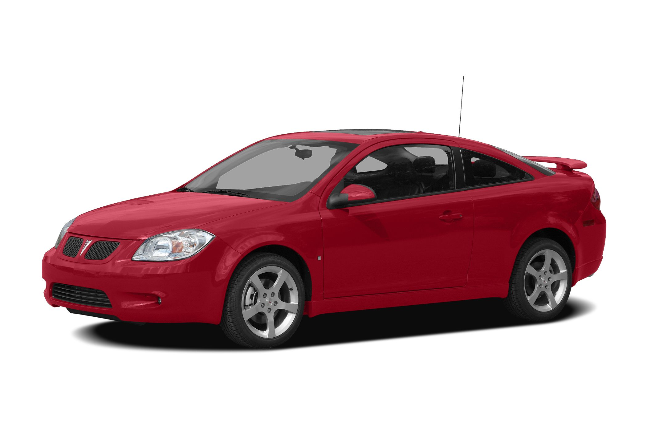 2009 Pontiac G5 GT Color Red Stock ZT271533 VIN 1G2AT18H09721533