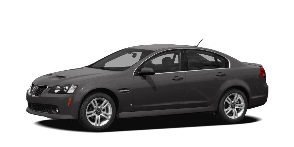 2009 Pontiac G8 Base Alloy Wheels - Front Fog Lights - Front Sport Bucket Seats - Illuminated Entr