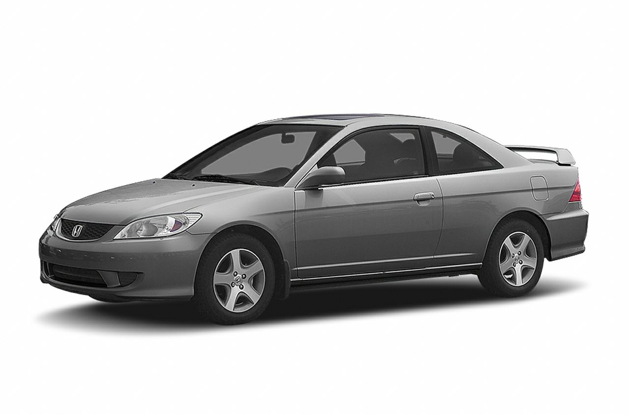 2004 Honda Civic EX Miles 122439Color Red Stock V2998P VIN 1HGEM21914L016961