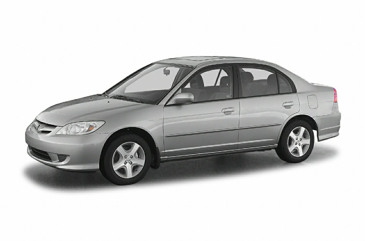 2004 Honda Civic LX 17L I4 SMPI SOHC 3829 HighwayCity MPG Clean CARFAX Odometer is 54845 mil