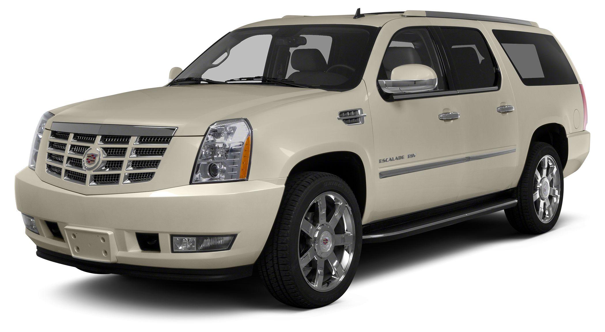 2014 Cadillac Escalade ESV Premium Escalade ESV Premium and White Call ASAP Best color Holiday