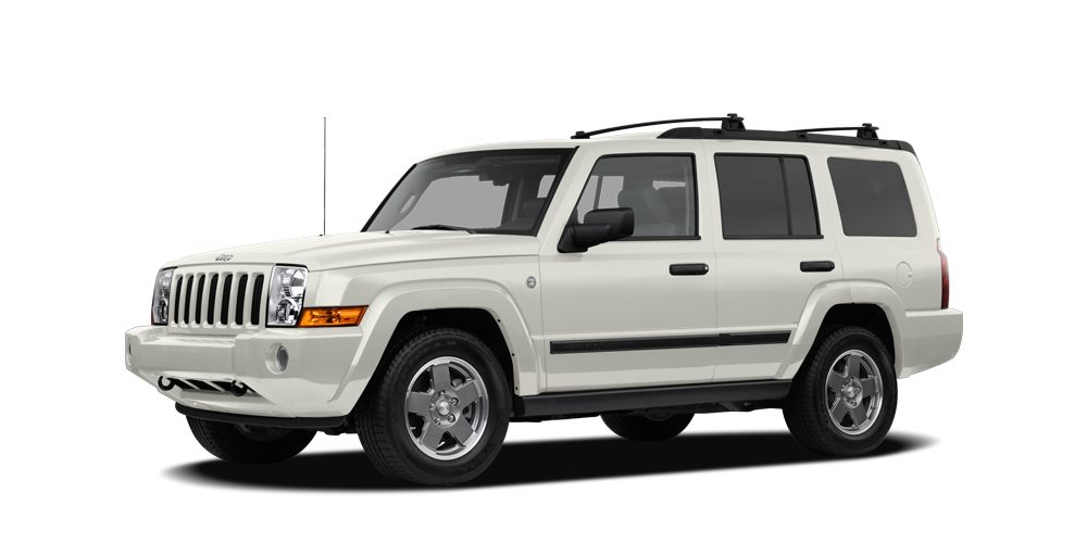 2006 Jeep Commander Base SEATING FOR 7 IN THIS 2006 JEEP COMMANDER 4X4 112K 47L V8 AUTO TRANS 4