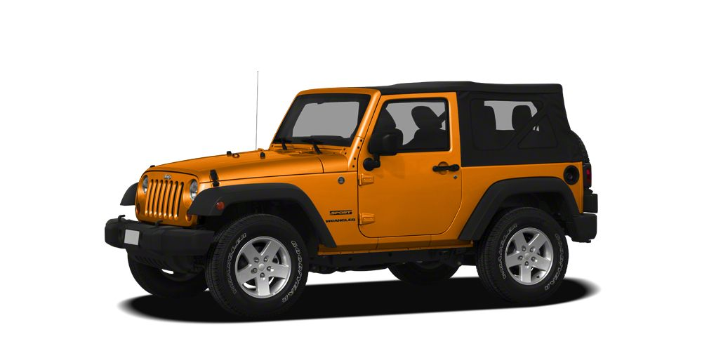 2012 Jeep Wrangler Sport automatic only 55K miles MP3CD traction control additional power out