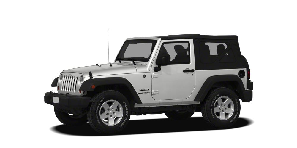 2012 Jeep Wrangler Sport WE OFFER FREE LIFETIME INSPECTION Miles 77918Color White Stock P1518
