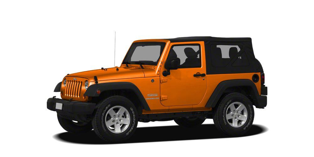 2012 Jeep Wrangler Sport Sport trim 1300 below Kelley Blue Book CARFAX 1-Owner ONLY 13827 Mi