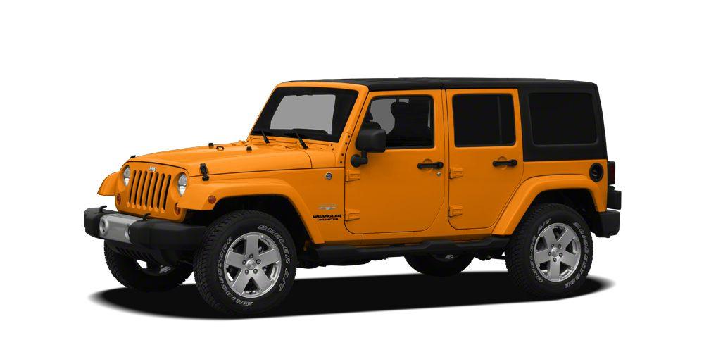 2012 Jeep Wrangler Unlimited Sport RHD CARFAX 1-Owner Dozer Clear Coat exterior Sport RHD trim