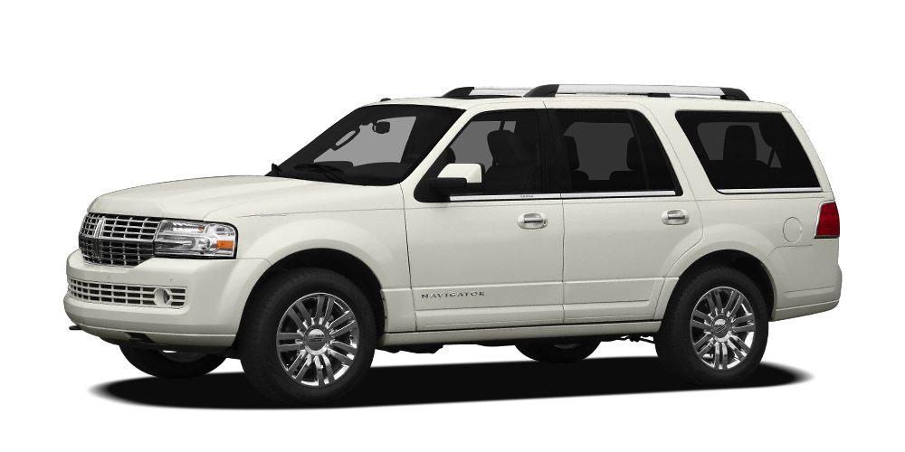2012 Lincoln Navigator Base Miles 97722Color White Stock 17N5A VIN 5LMJJ2H56CEL03734