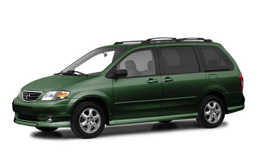 2001 Mazda MPV ES Miles 139381Color Green Stock 82912B VIN JM3LW28Y710191216
