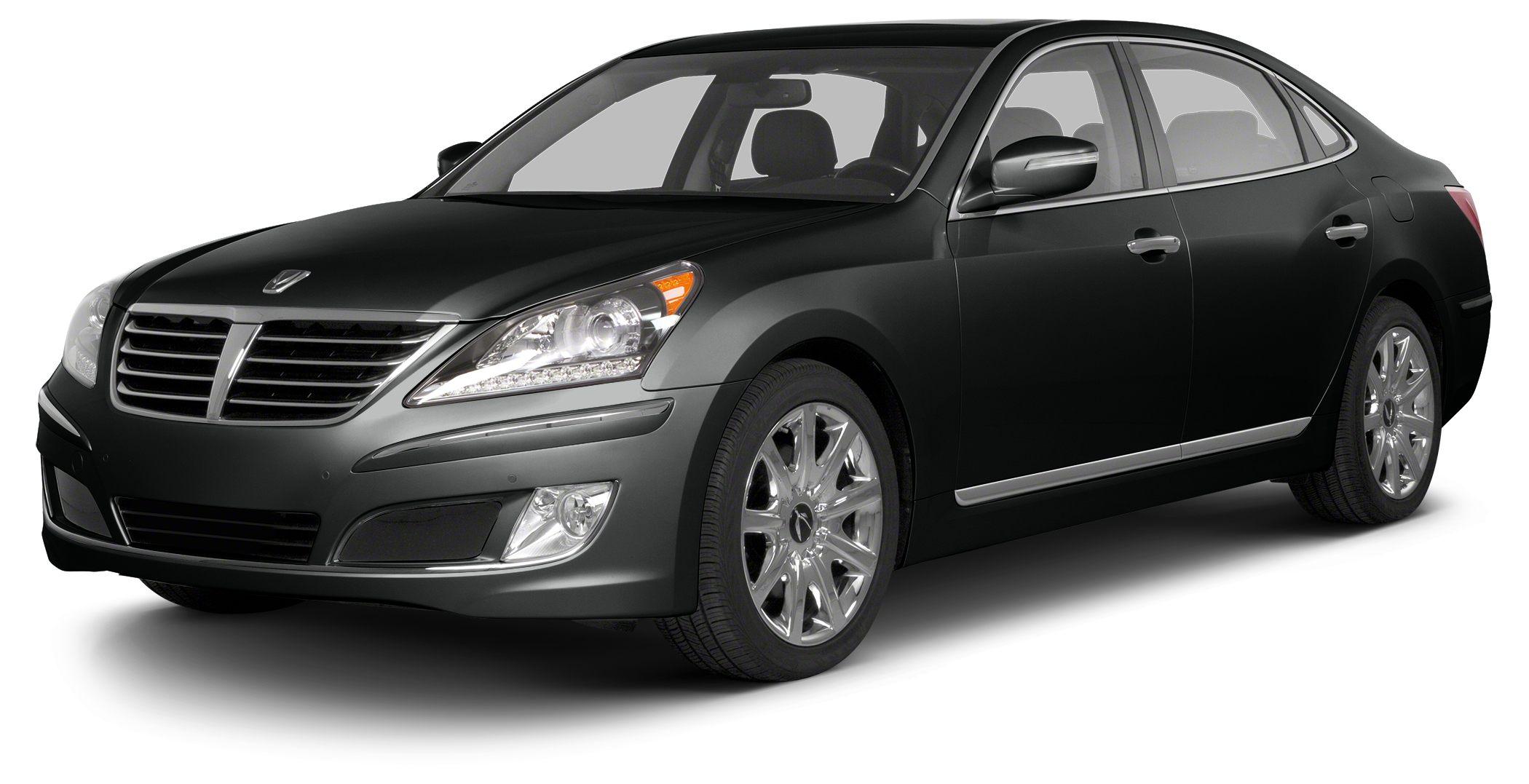 2013 Hyundai Equus Signature Miles 7319Color Black Noir Pearl Stock H17969A VIN KMHGH4JH8DU0