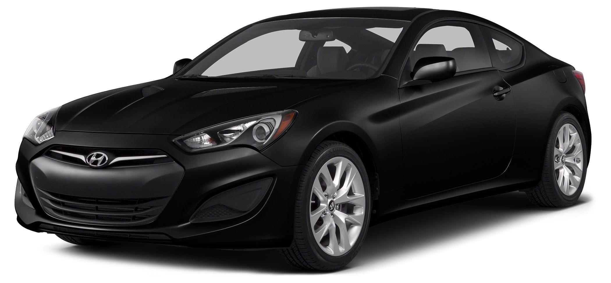 2013 Hyundai Genesis Coupe 20T R-Spec Miles 0Color Black Noir Pearl Stock TRK14428A VIN KMHH