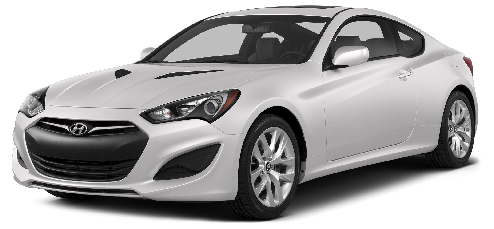 2014 Hyundai Genesis Coupe 20T R-Spec Color Casablanca White Stock H17963 VIN KMHHT6KD4EU1193