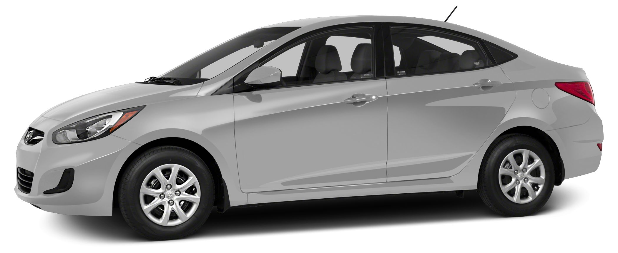 2013 Hyundai Accent GLS Miles 26491Color Ironman Silver Stock H5576P VIN KMHCT4AE6DU532448