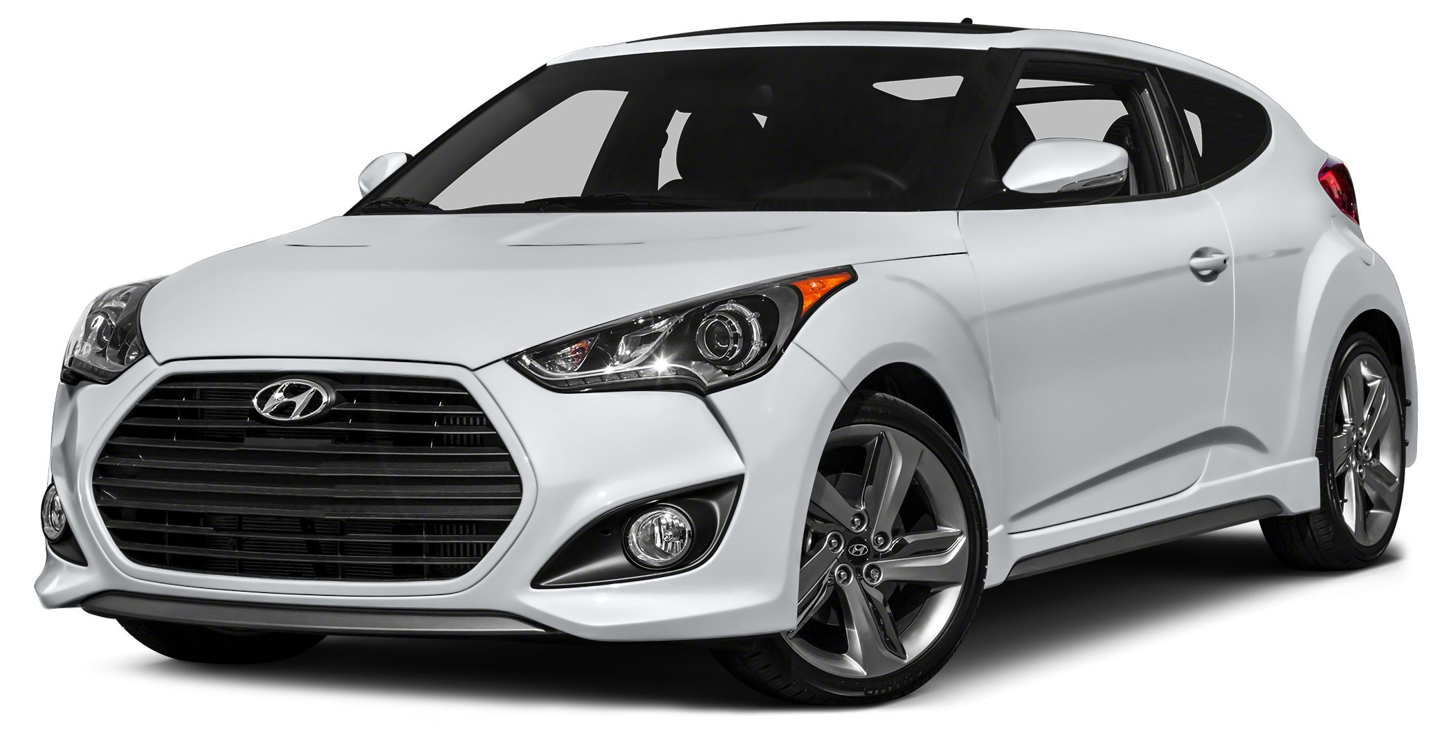 2015 Hyundai Veloster Turbo 2015 Hyundai Veloster Turbo in Century White Bluetooth for Phone and