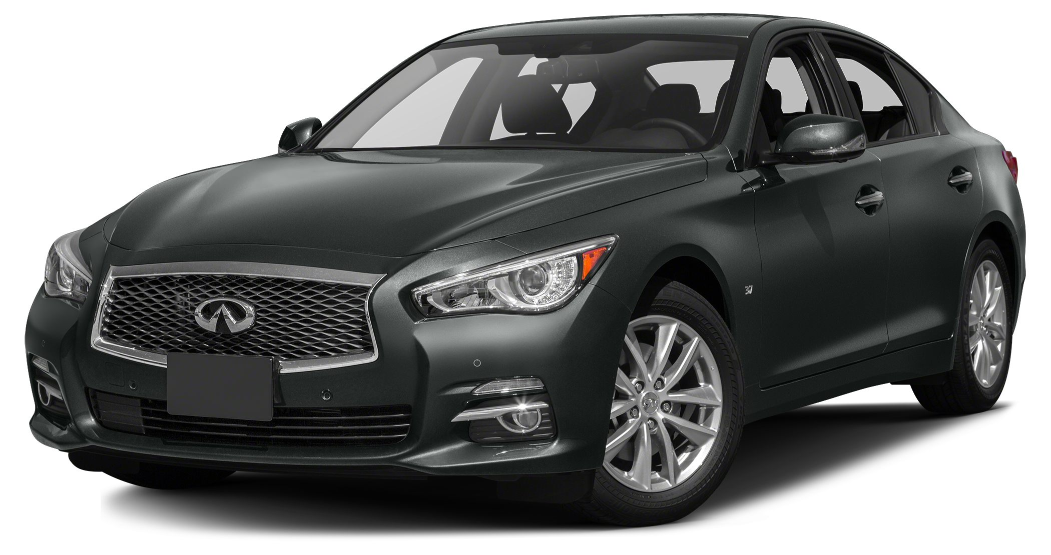 2014 INFINITI Q50 Sport BEAUTIFUL GRAPHITE SHADOW WITH BLACK LEATHER INTERIOR Q50 PREMIUM IS DEFI