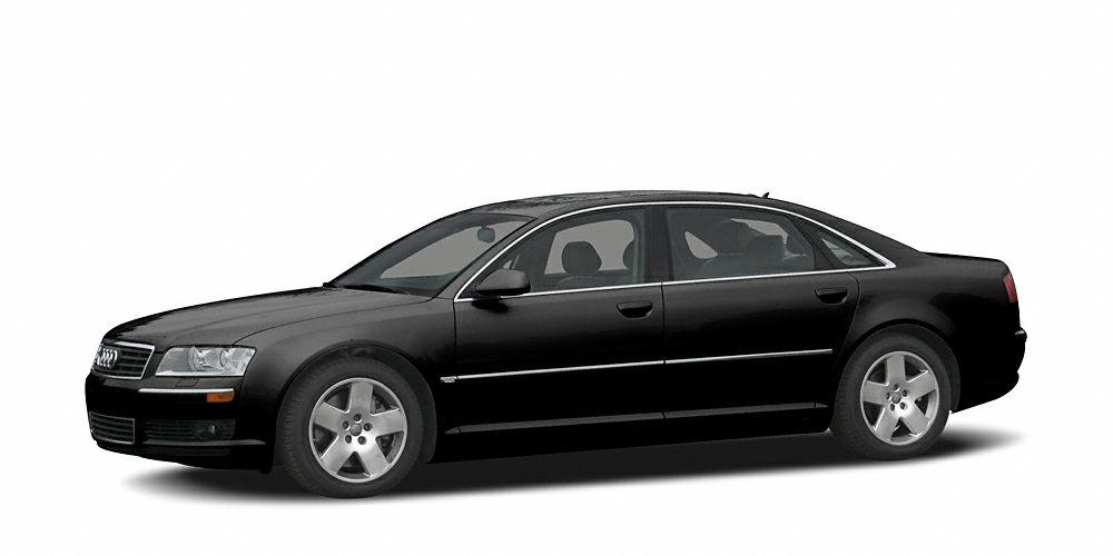 2005 Audi A8 L W12 quattro Miles 90964Color Brilliant Black Stock R15506B VIN WAUMR44E25N014