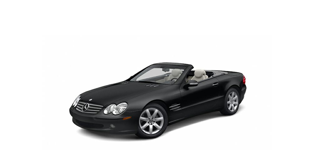 2004 MERCEDES SL-Class SL600 This particular SL600 is gorgeous Outfitted in the best color combin