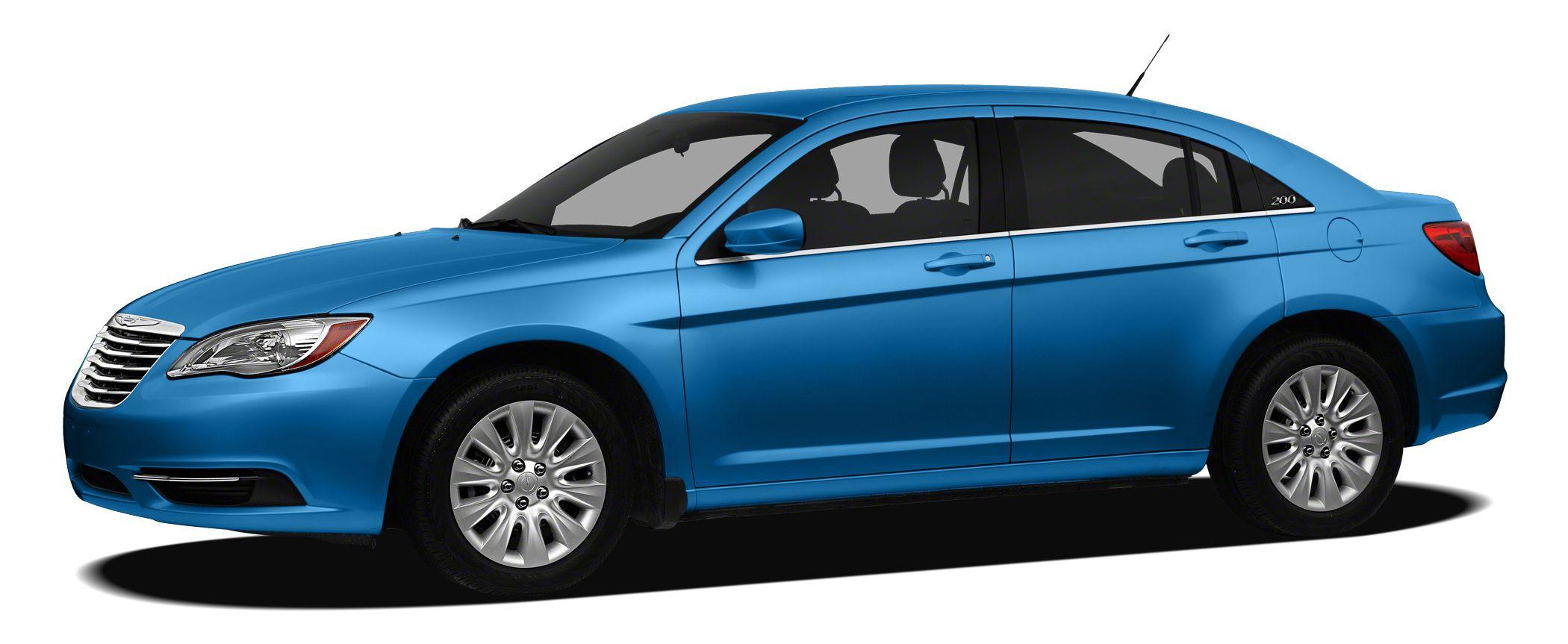 2012 Chrysler 200 Touring 36L V6 Flex Fuel 24V VVT Automatic FWD and Cloth Chrysler FEVER Wh