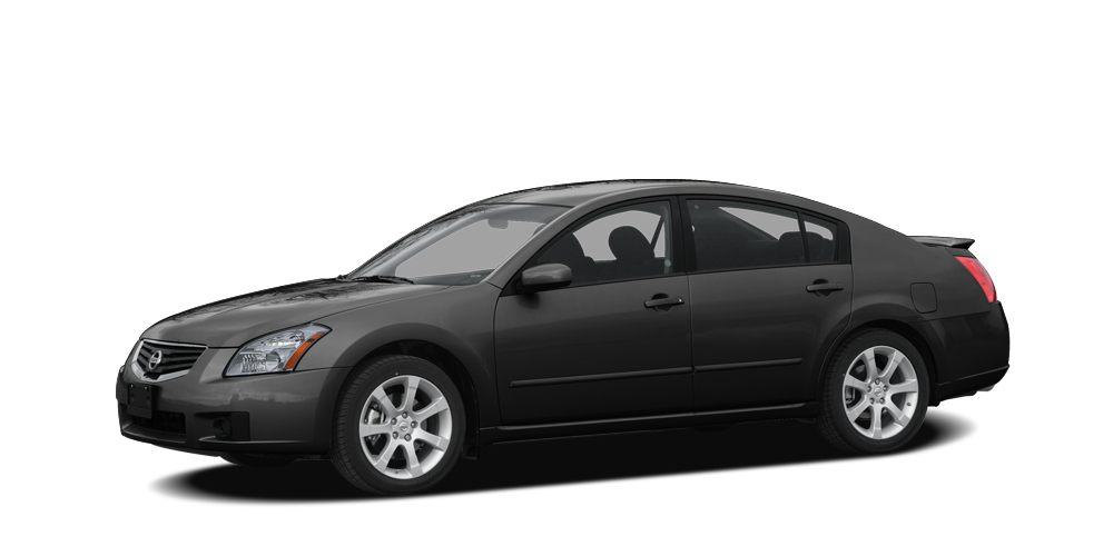 2007 Nissan Maxima 35 SL Miles 139494Color Super Black Stock t9728 VIN 1N4BA41E27C821901