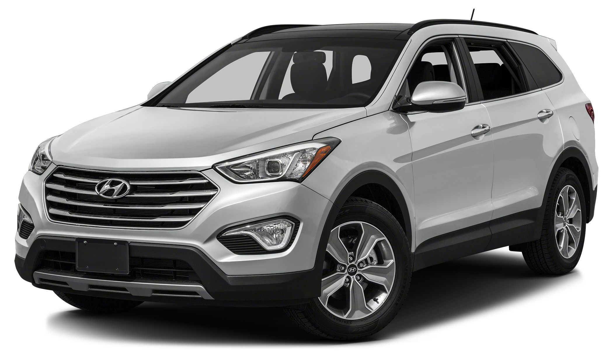 2015 Hyundai Santa Fe GLS Active On-Demand AWD System w AWD Lock Navigation system with 8-inch t