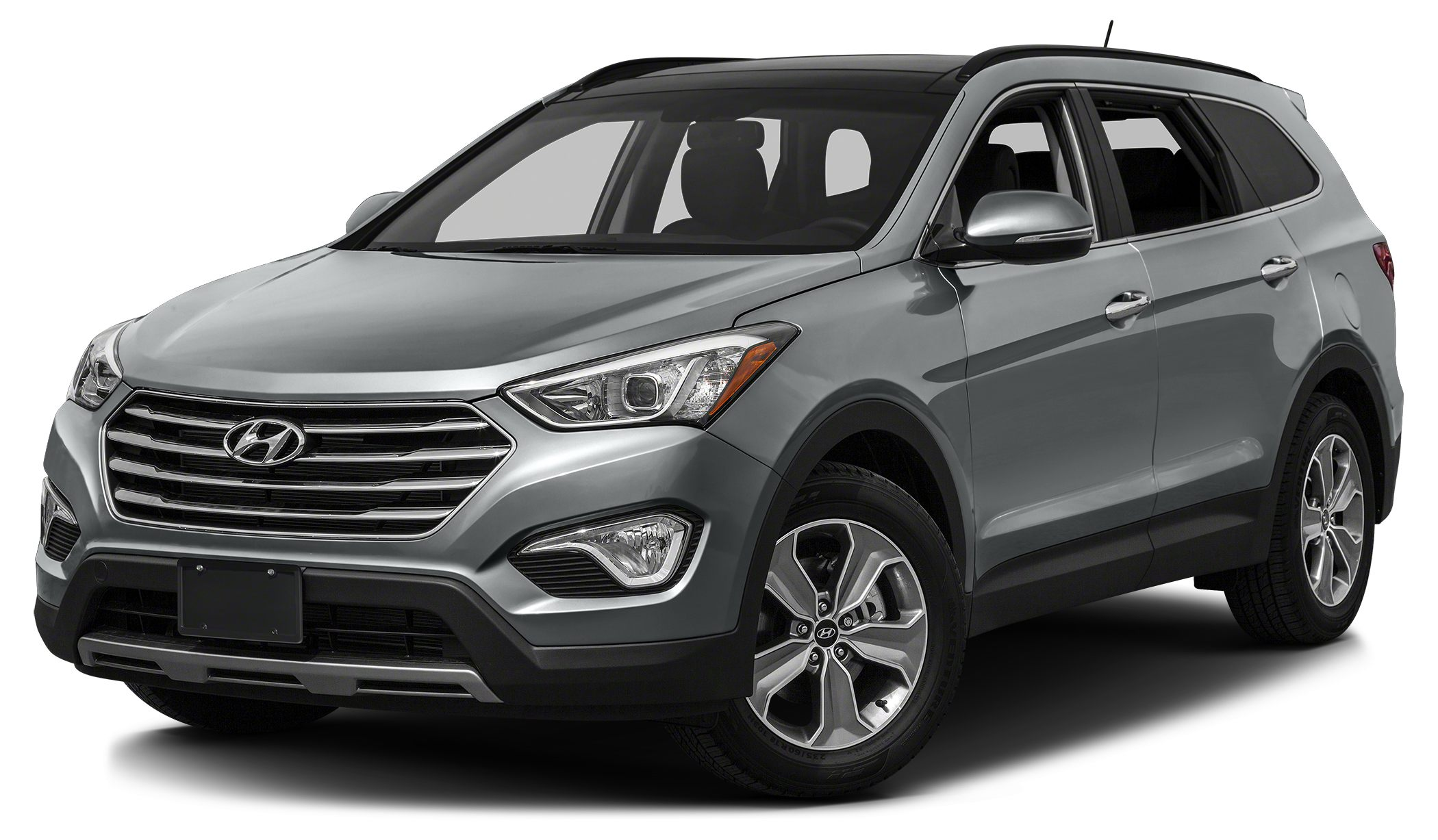 2015 Hyundai Santa Fe GLS Active On-Demand AWD System w AWD Lock Bluetooth Miles 10Color Iron