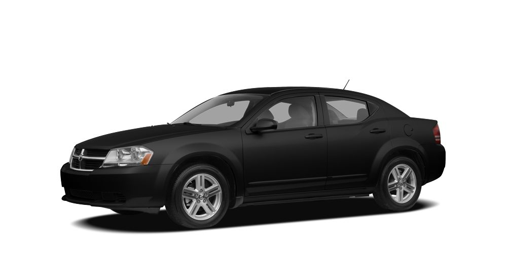 2008 Dodge Avenger SE Miles 156796Color Black Stock K16265A VIN 1B3LC46J08N198400