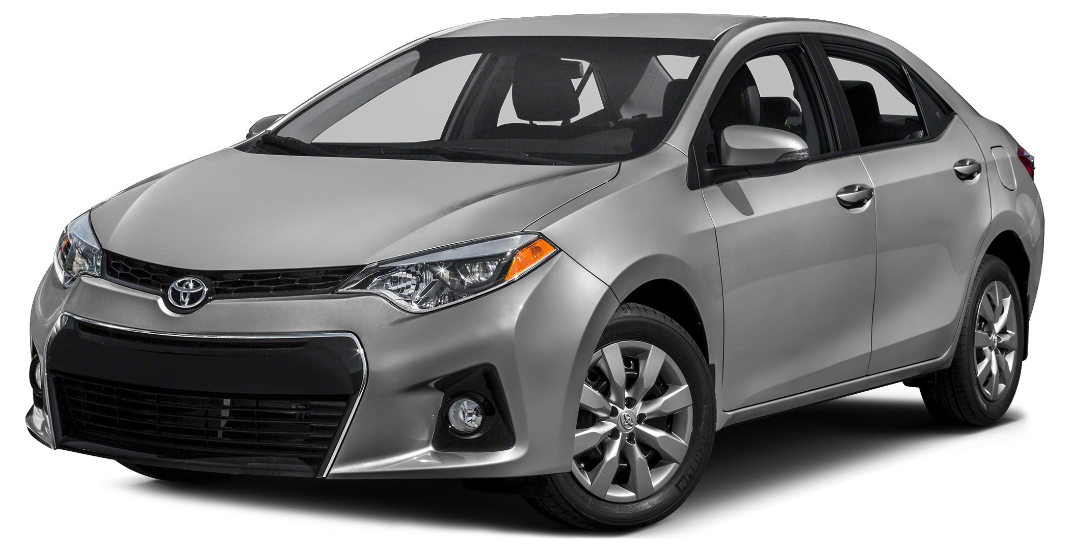 2016 Toyota Corolla S Plus S Plus trim CLASSIC SILVER METALLIC exterior and BLACK interior CARFA