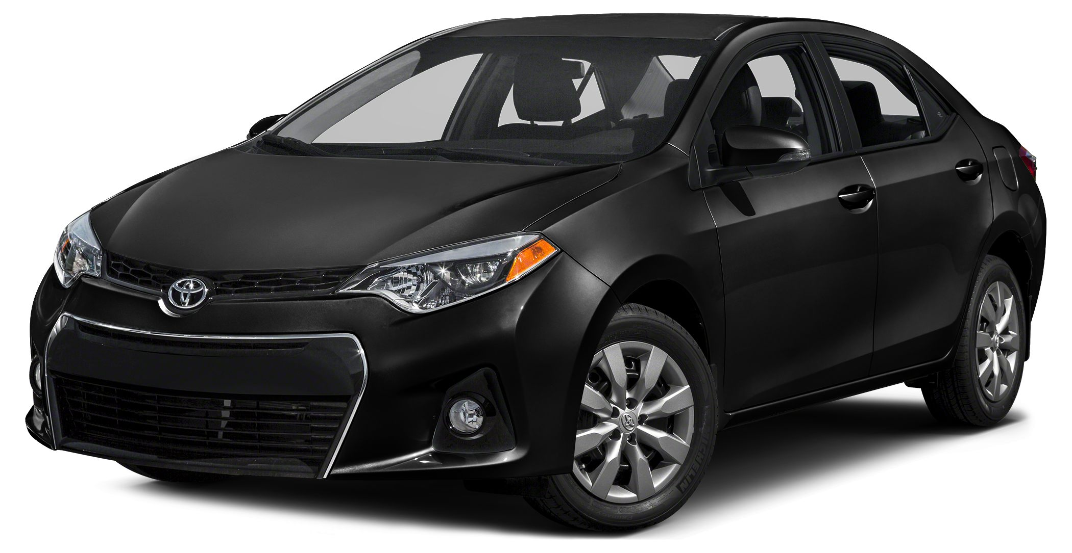 2016 Toyota Corolla S Plus CARFAX 1-Owner BLACK SAND PEARL exterior and BLACK interior S Plus tr