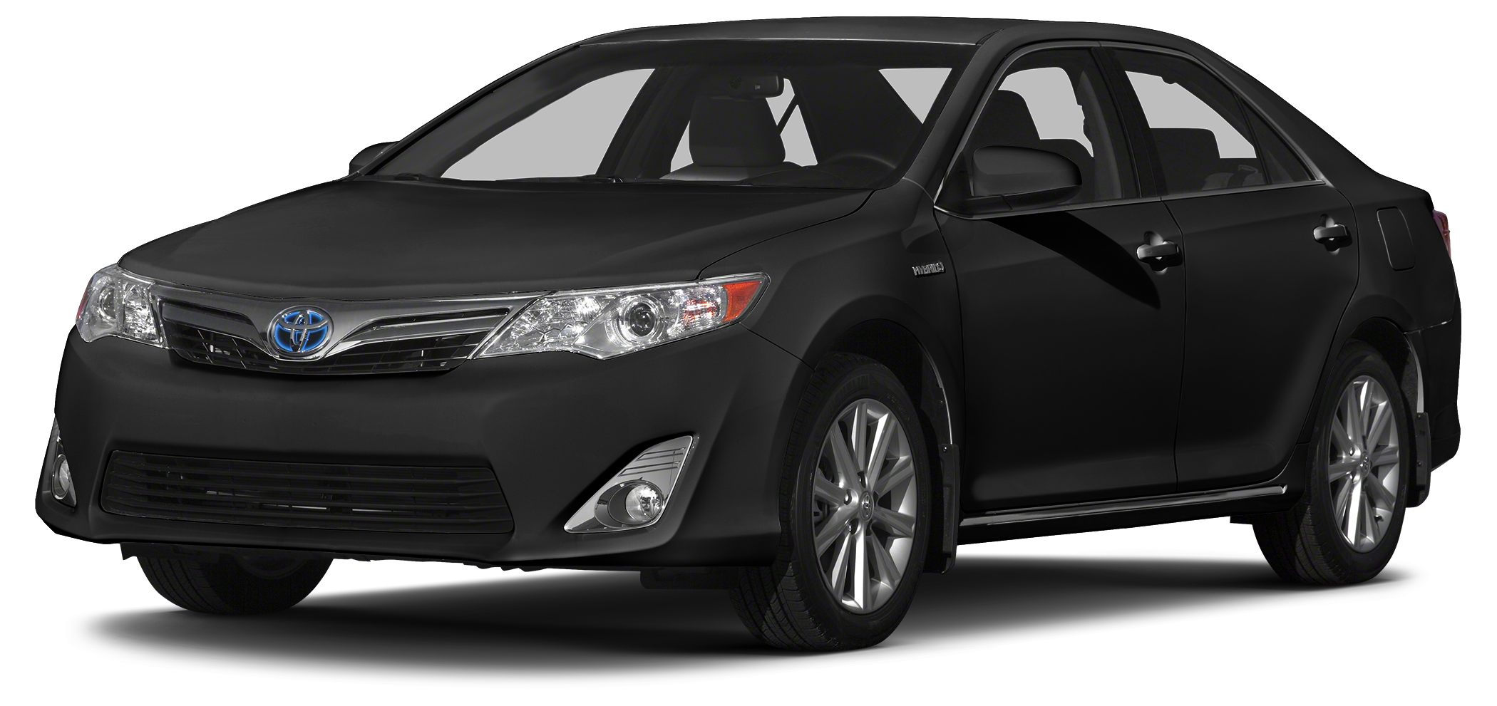 2014 Toyota Camry Hybrid LE LOW MILES - 20199 EPA 39 MPG Hwy43 MPG City ATTITUDE BLACK exterio