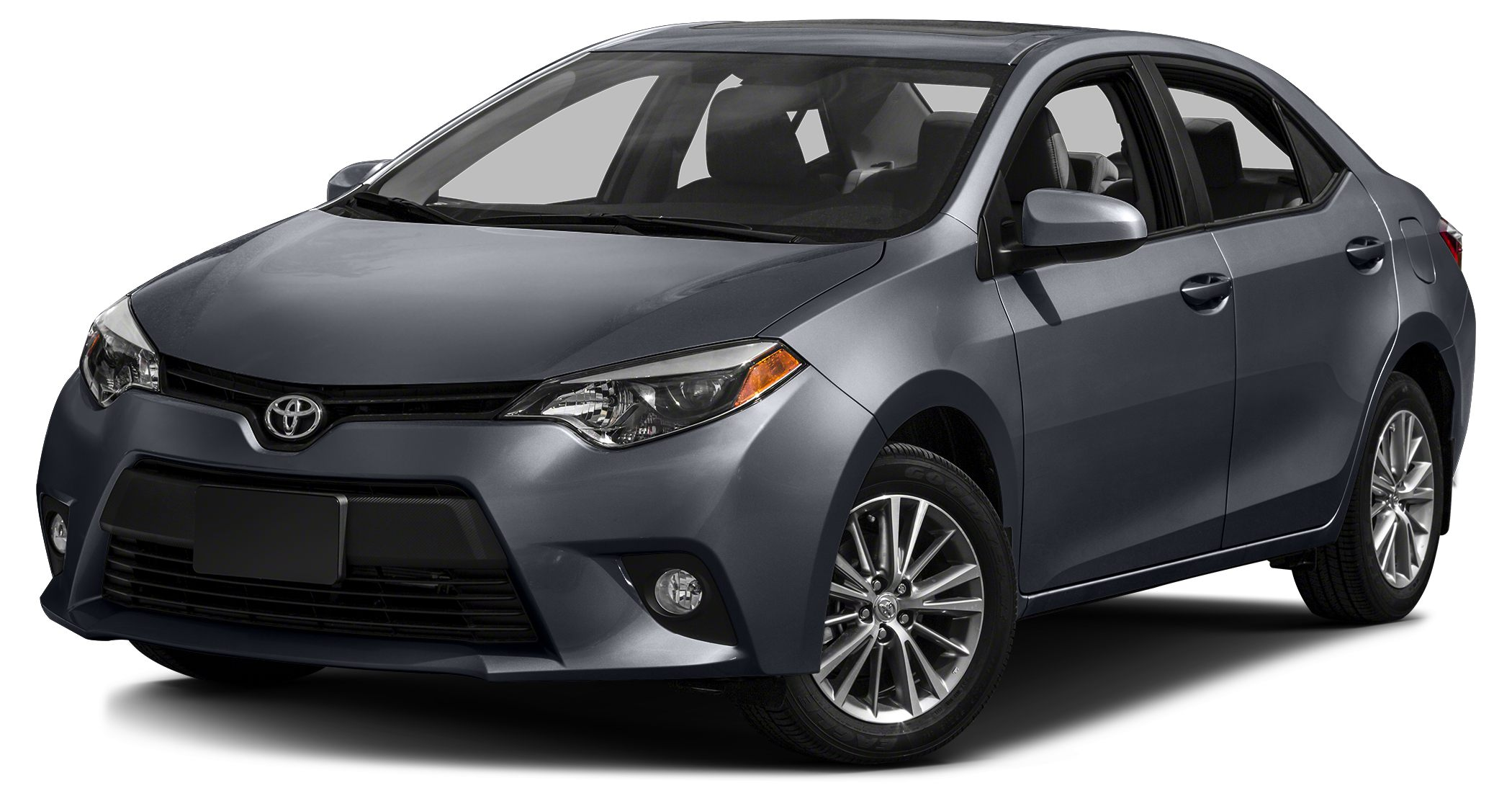 2014 Toyota Corolla LE Plus LE Plus trim SLATE METALLIC exterior and ASH interior CARFAX 1-Owner