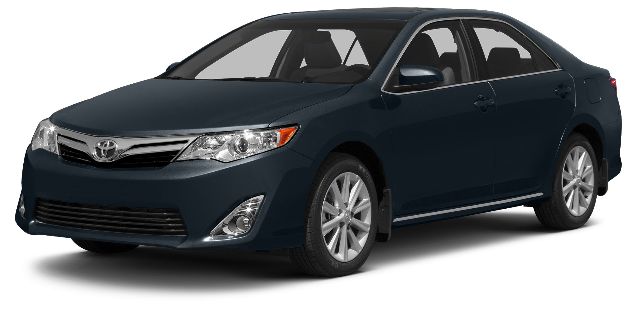 2014 Toyota Camry LE CARFAX 1-Owner LOW MILES - 38368 LE trim COSMIC GRAY MICA exterior and BL