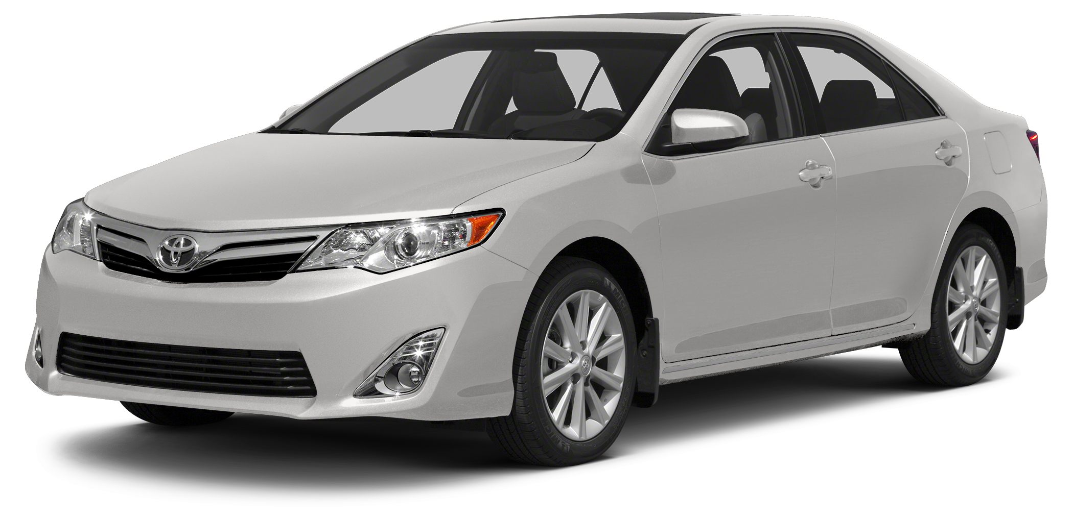 2014 Toyota Camry L SUPER WHITE exterior and IVORY interior L trim CARFAX 1-Owner GREAT MILES 1