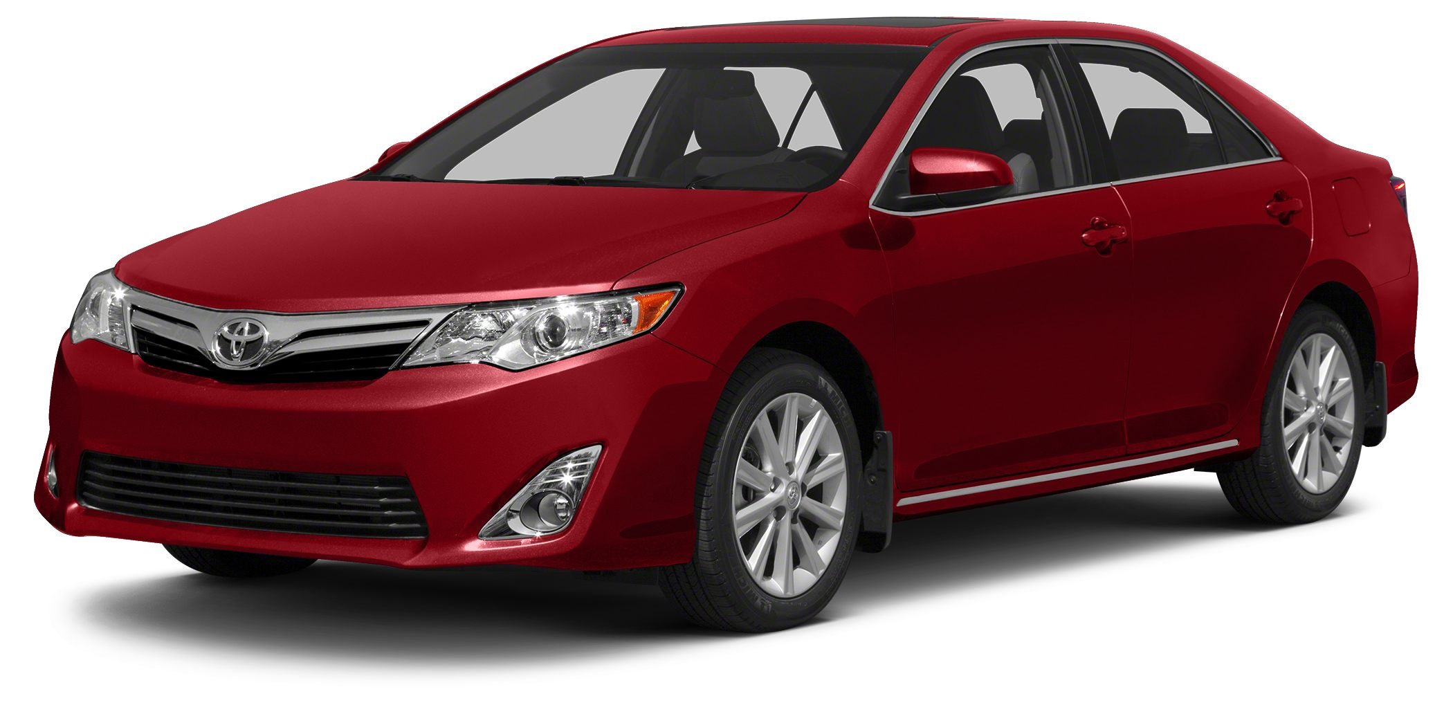 2014 Toyota Camry LE CARFAX 1-Owner GREAT MILES 21640 LE trim BARCELONA RED METALLIC exterior