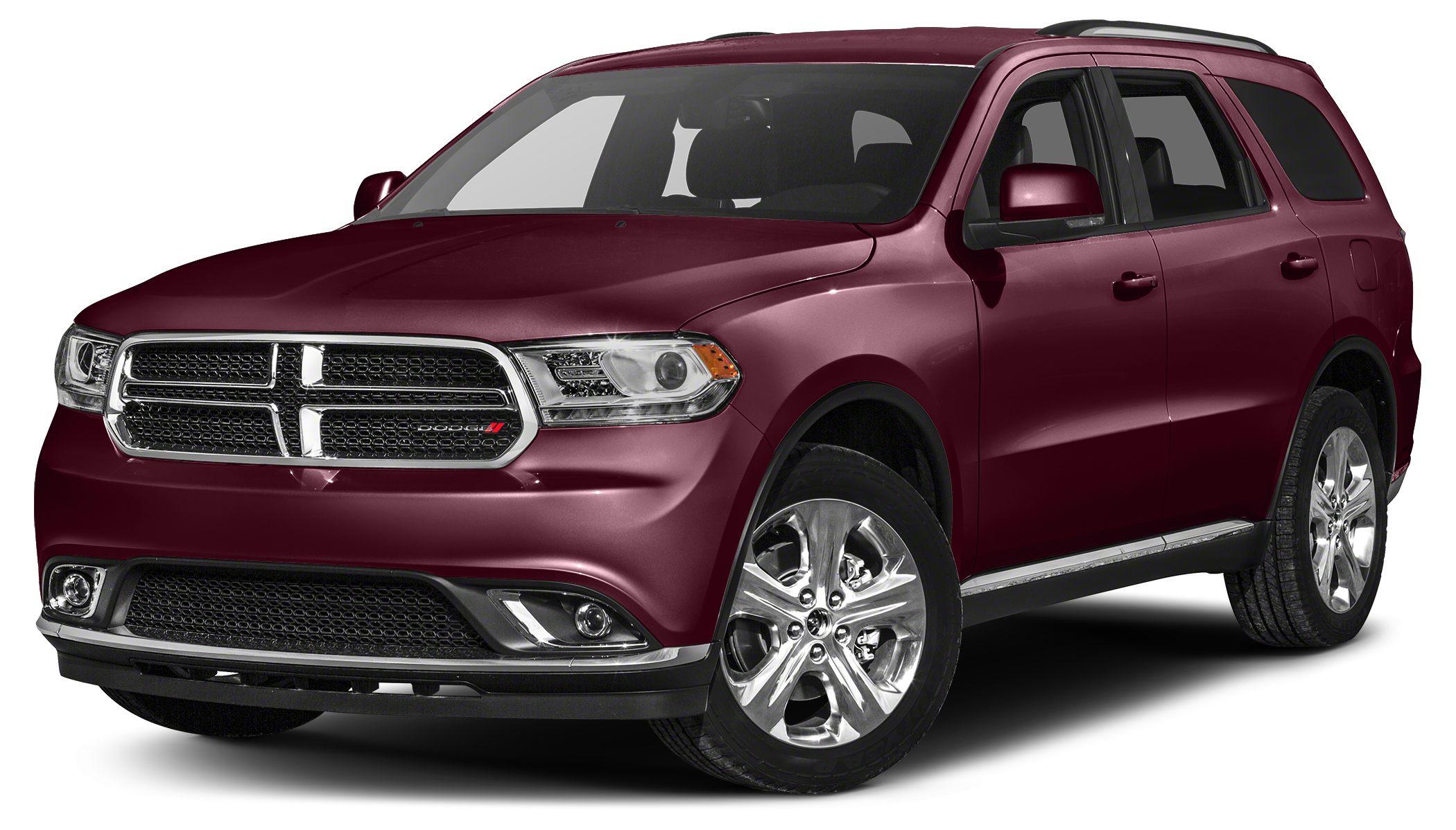 2016 Dodge Durango Limited Miles 0Color Dark Garnet Red Pearlcoat Stock DT3545 VIN 1C4RDHDG9