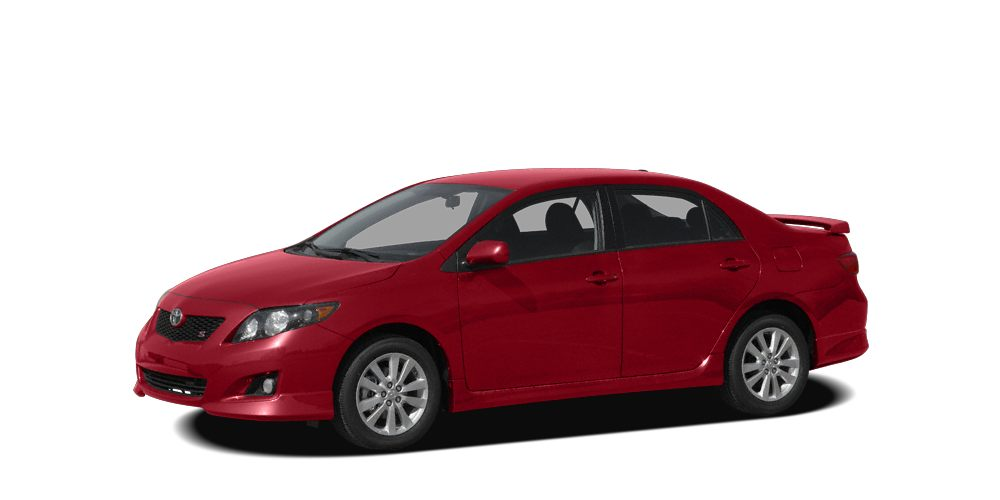 2009 Toyota Corolla S S trim CARFAX 1-Owner ONLY 40107 Miles EPA 35 MPG Hwy27 MPG City iPod