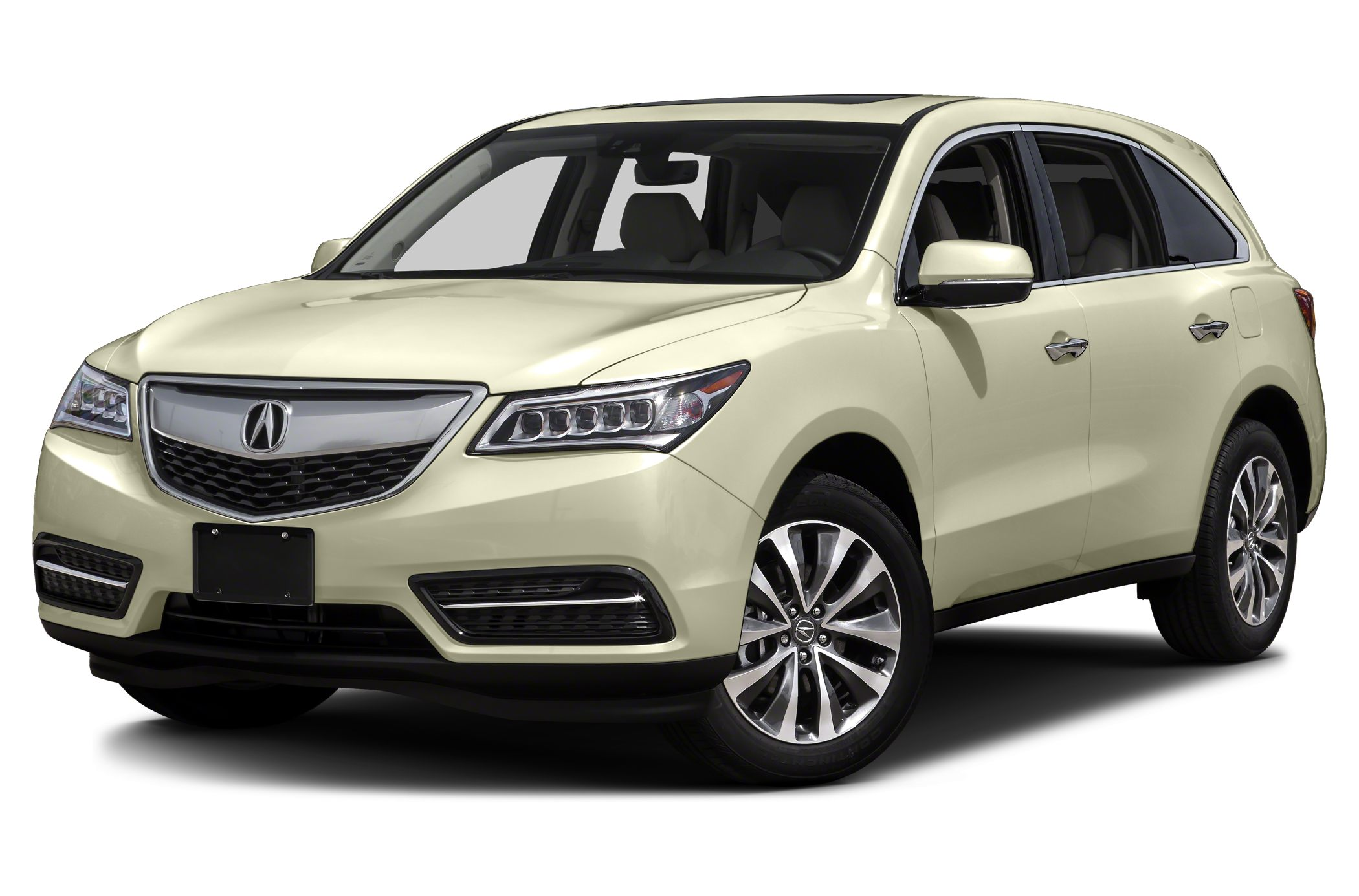 2016 Acura MDX 35 Clean Carfax One OwnerNavigation System w3D View Backup Camera Bluetooth