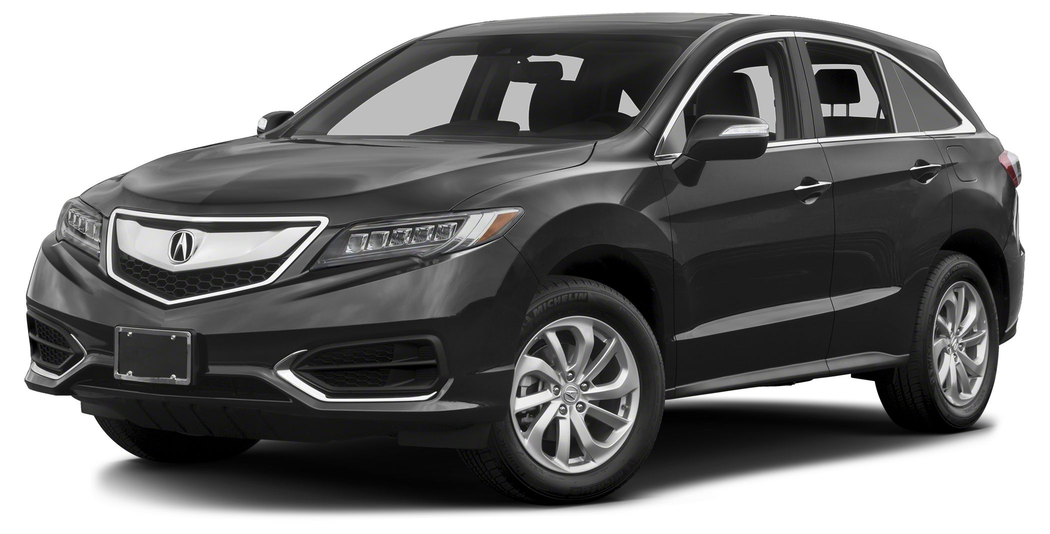 2017 Acura RDX Technology w AcuraWatch Plus Miles 2Color Modern Steel Metallic Stock A004189