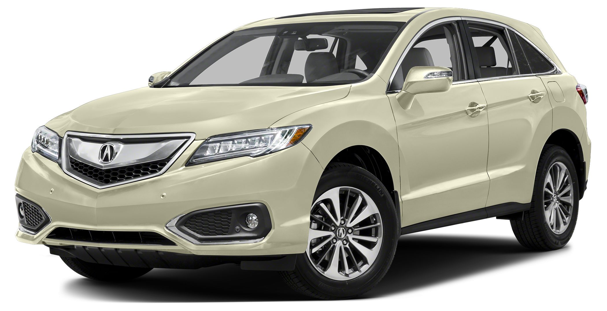 2016 Acura RDX Advance Miles 25000Color White Diamond Pearl Stock A004621-1 VIN 5J8TB4H73GL0